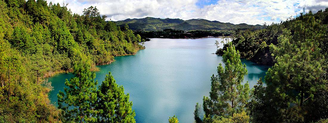 Centro turístico Lagunas de Montebello, un lugar que no debes perderte