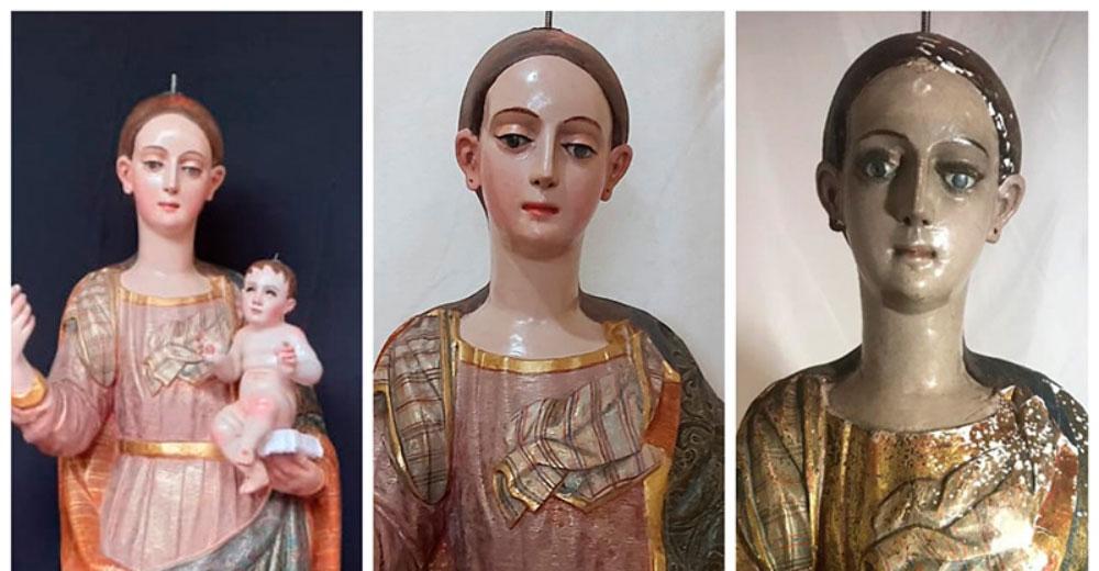 Virgen de La Merced regresa a su templo en SCLC
